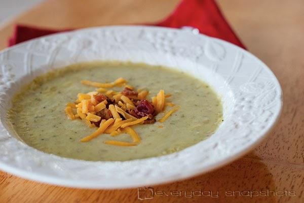 Creamy Vegetable Soup   Everyday Snapshots