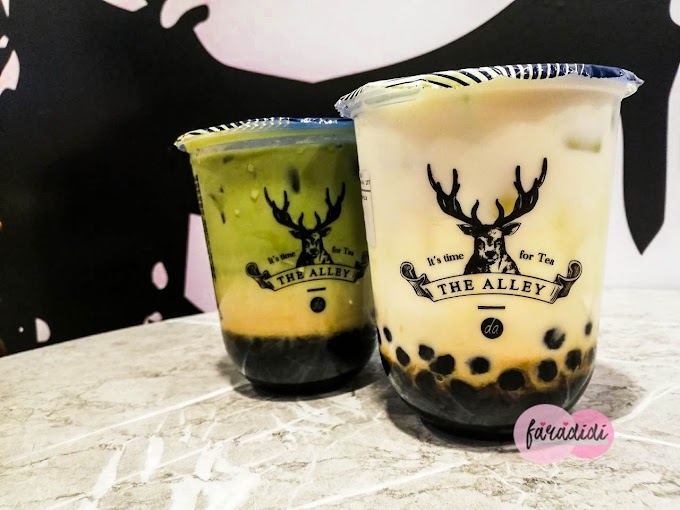 Pertama Kali Mencuba Bubble Tea The Alley!