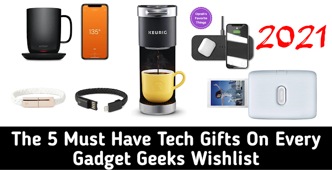 The 5 Must Have Tech Gifts On Every Gadget Geeks Wishlist | Tech Robin