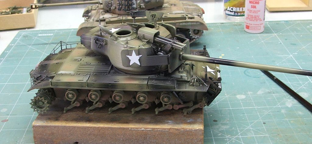 "Medium Tank T26E4 ""Super Pershing"""