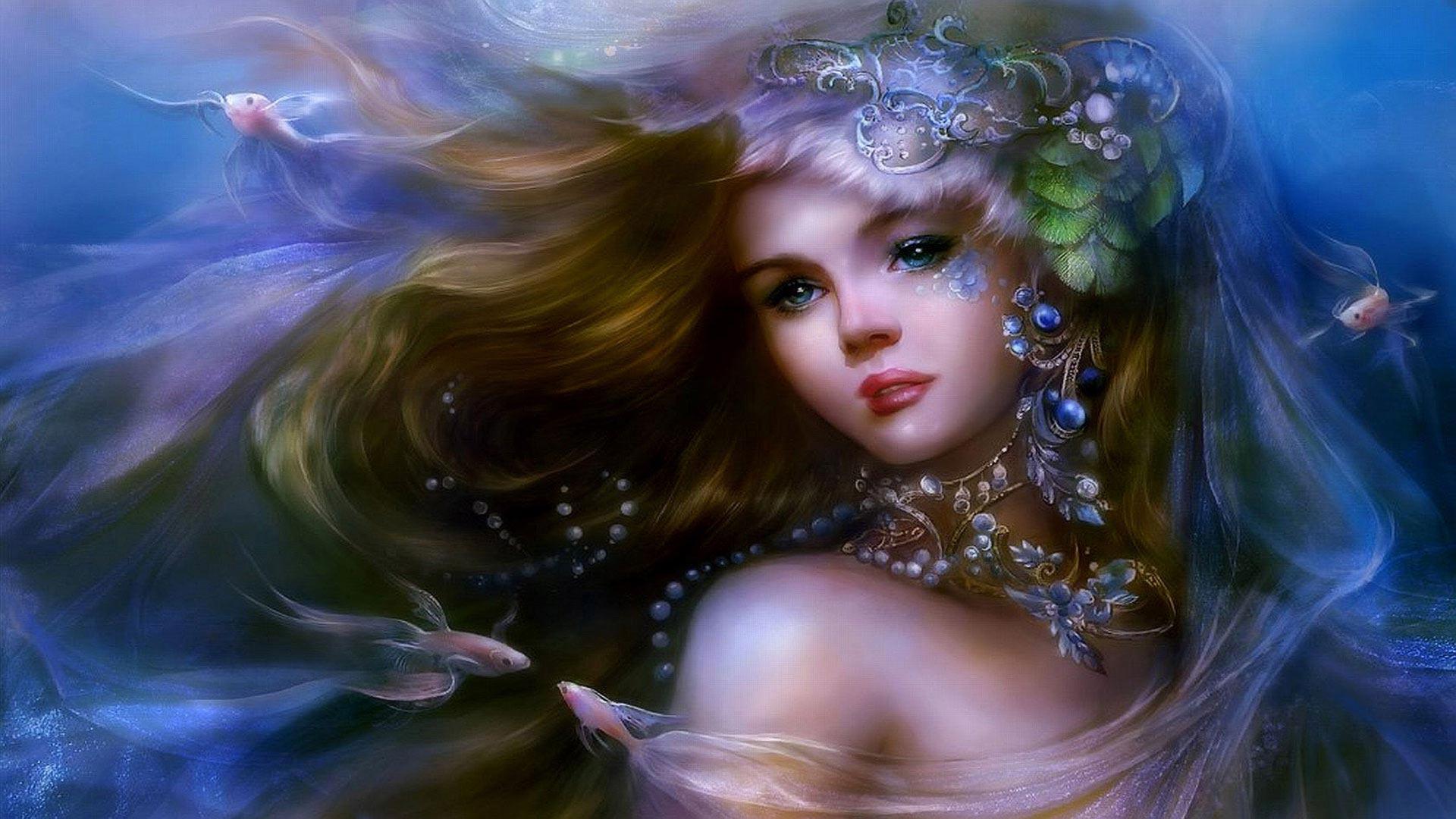 Fantasia retrato princesa papel de parede grtis para pc hd fantasia retrato princesa altavistaventures Choice Image