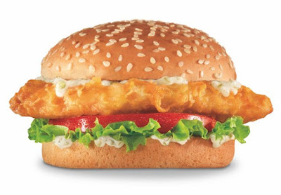 Redhook beer battered fish sandwich returns to carl 39 s jr for Carl s jr fish sandwich