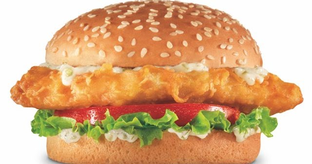 Redhook beer battered cod fish sandwich returns to carl 39 s for Jack in the box fish