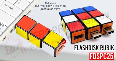 USB FLASH DRIVE RUBIK, USB unik berbentuk Rubiks, USB Mini IQ Cube Flash Drive, Flashdisk Rubik - FDSPC25 dengan harga termurah