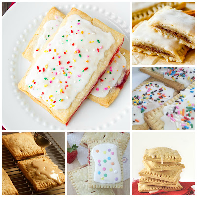 image pop tart recipe roundup frosted strawberry cinnamon apple brown sugar