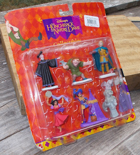 70mm Figures; Arco Toys; Disney; Disney Film; Disney Movie; Movie Promotional; PVC Figurines; PVC Vinyl Rubber; Quasimodo; Small Scale World; smallscaleworld.blogspot.com; The Hunchback Of Notre Dame; 1 Disney's Hunchback Of Notre Dame Clopin Esmeralda Frollo Quasimodo Phoebus Gargoyles Acrco Arcotoys Mattel DSCN8558