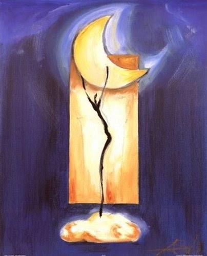 Moon dance Poster Print by Alfred Gocjkel | artpreneure-20