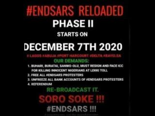 #EndSARS Phase II Begins