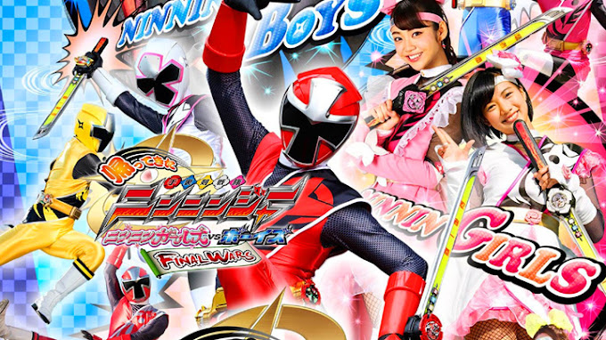 Shuriken Sentai Ninninger Returns: Ninnin Girls vs Boys Final Wars Subtitle Indonesia