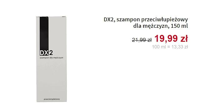 Szampon przeciwłupieżowy dla mężczyzn DX2