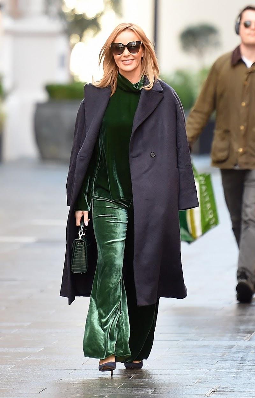Amanda Holden Spotted At Global Studios in London 15 Dec-2020