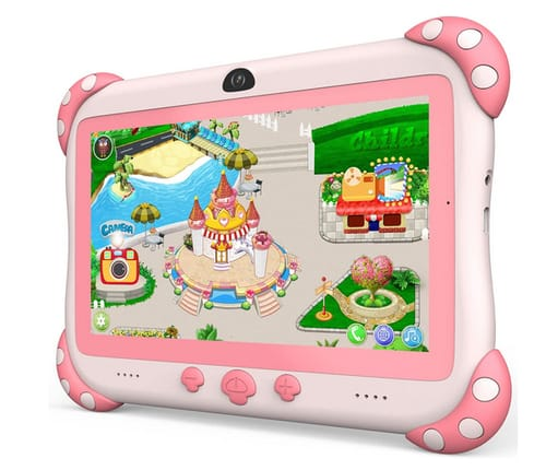 YINOCHE Dual Camera Educational Android Kids Tablet
