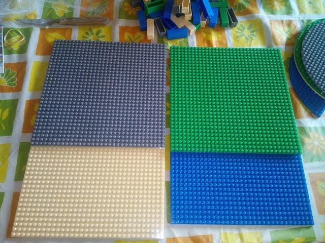 Bases cuadradas 25x25 lego