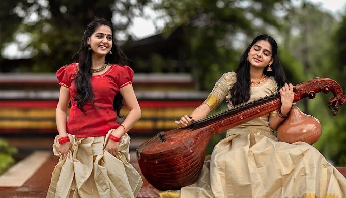 Anaswara Rajan photos in Kerala Traditional Outfit