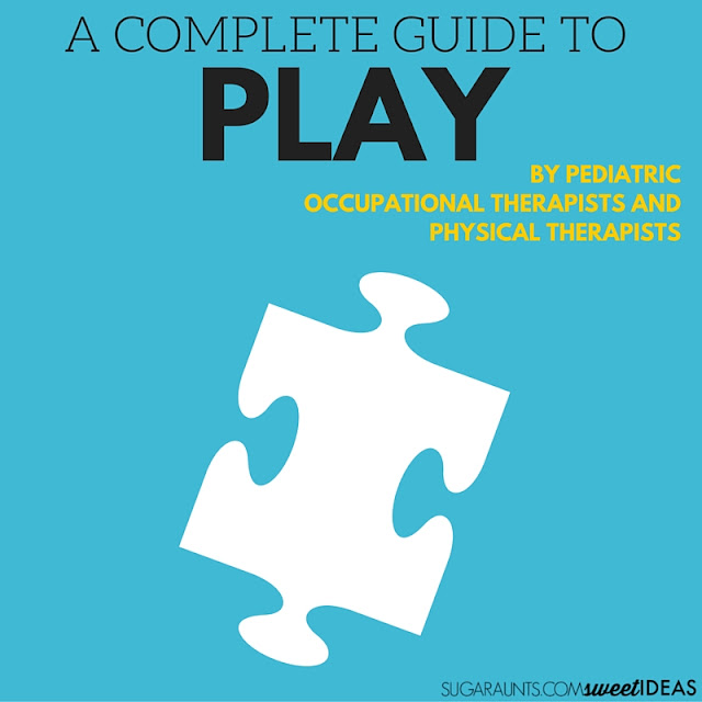Play and the child in fine motor skills, gross motor skills, developmental progression of play, helping attention and social skills through play, and using play as a therapeutic tool in Occupational Therapy and Physical Therapy with kids.