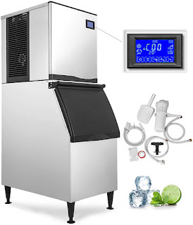 Review VEVOR 110V Commercial Ice Maker