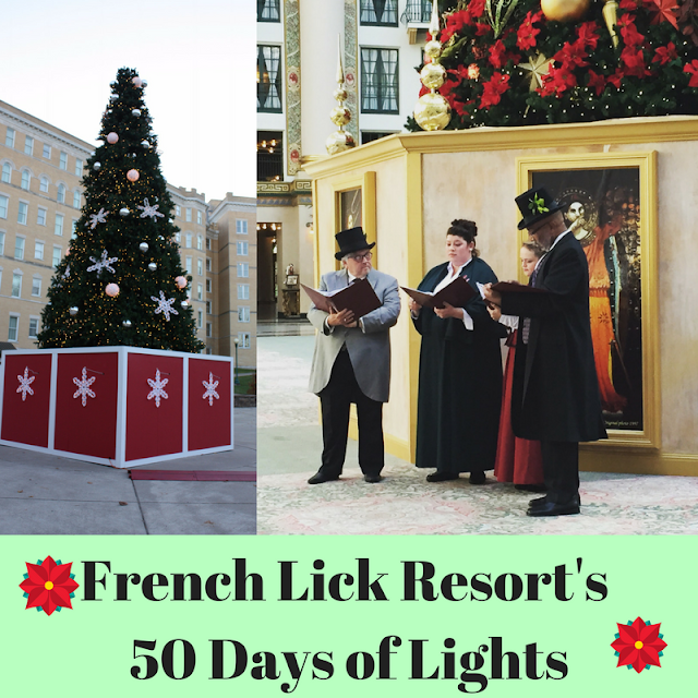 French Lick Resort's  50 Days of Lights