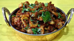 Mushroom Masala Bhurji