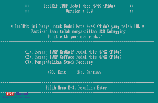 Redwolf Twrp For Redmi Note 4 Snapdragon — TTCT