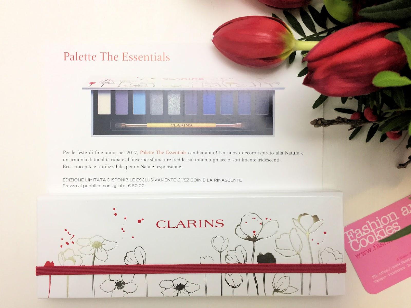 Makeup feste natalizie: palette occhi Clarins The Essentials su Fashion and Cookies beauty blog, beauty blogger