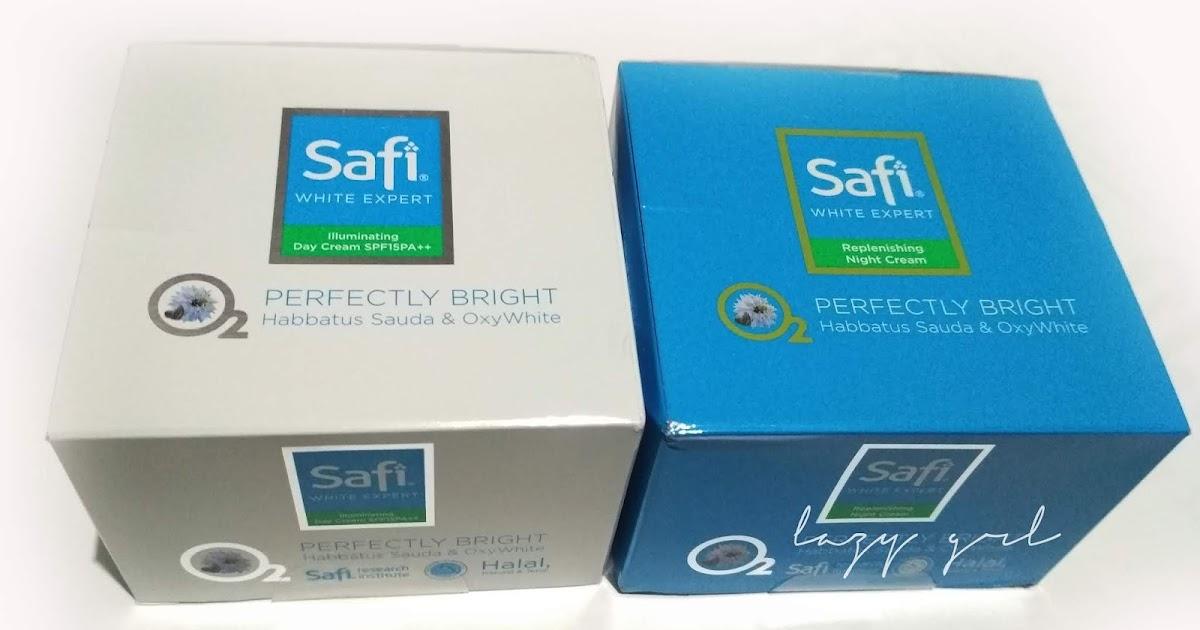 REVIEW SKIN CARE : Safi Day Cream dan Night Cream, Halal ...