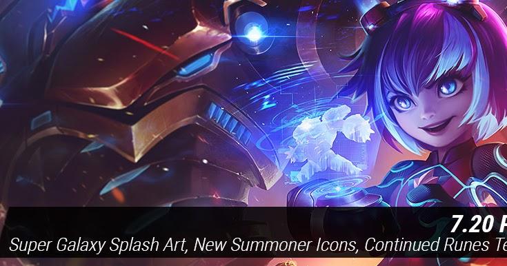 Surrender At 20 103 Pbe Update Super Galaxy Splash Art New