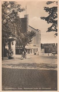 Gloria Weissenfels cinema postcard 1928