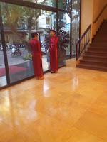 Ragazze Ao Dai vietnamita Suit