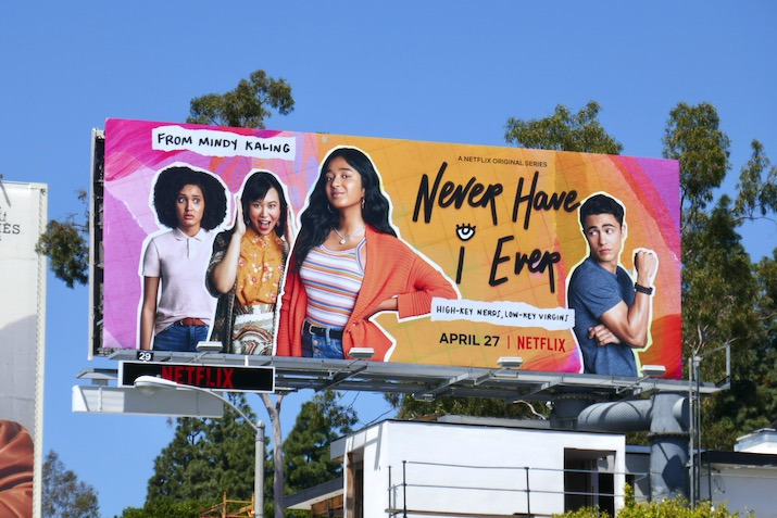Never Have I Ever season 1 billboard