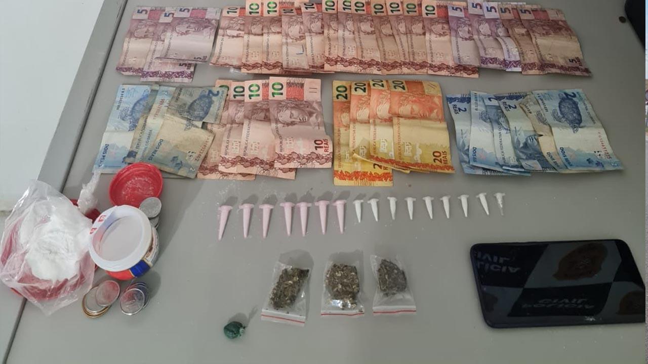 SIG de São Manuel apreende quase 80 porções de drogas