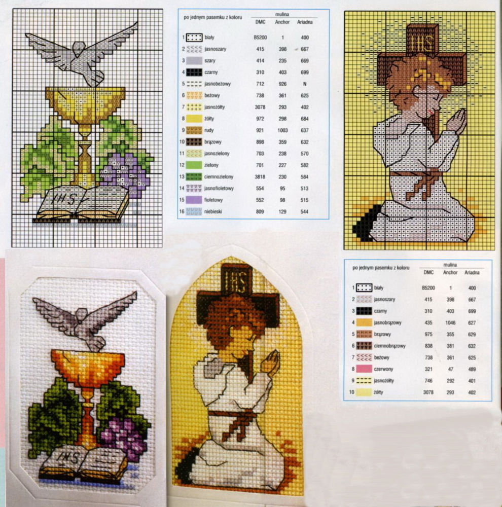 Bien-aimé Grande raccolta di Schemi e grafici per Punto croce free: Raccolta  UT46