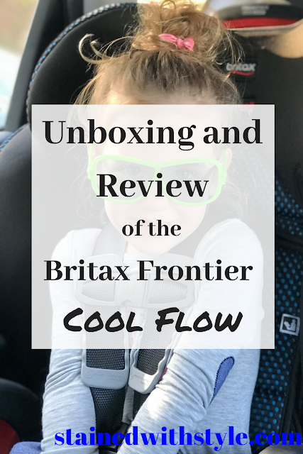 Pinnable image of the britax frontier review