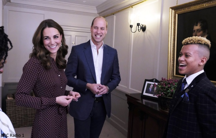 On Wednesday The Duke And Duchess Of Cambridge Hosted A Reception For The Finalists Of Bbc Radio Ones Teen Hero Awards At Kensington Palace