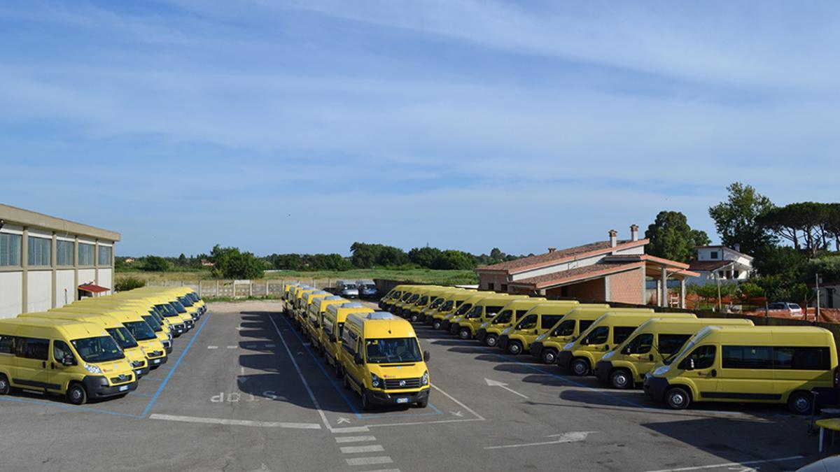 Contributo per trasporto scolastico al Comune di Caltagirone