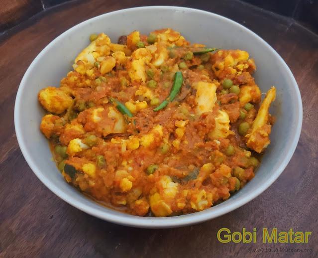 images of Gobi Matar Masala / Gobi Mutter Masala / Cauliflower And Pea Curry / Gobi Matar Recipe / Gobi Matar ki Sabzi