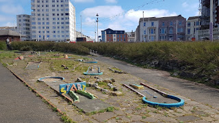 The North Shore Crazy Golf course in Blackpool