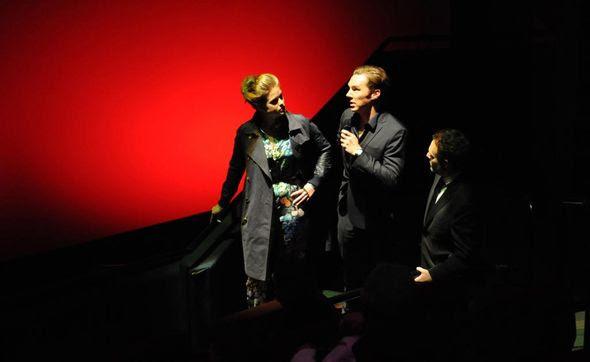 Star Trek Into Darkness IMAX-Presentation Alice Eve, Benedict Cumberbatch and Producer Bryan Burk