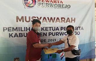 Pewarta Purworejo Gelar Musyawarah Pemilihan Ketua, Jarot Sarwosambodo Duduki Ketua Priode 2021-2023