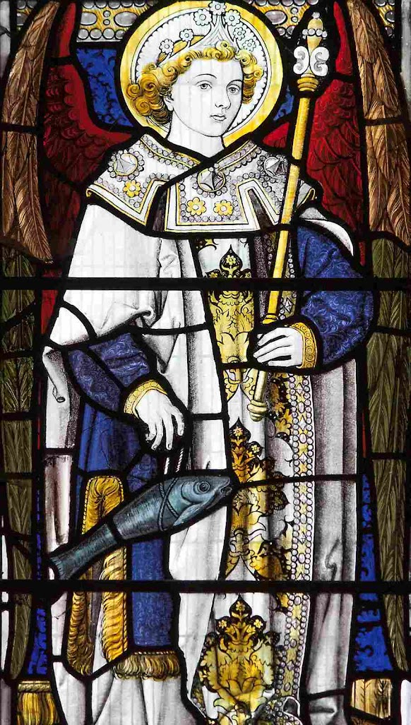 São Rafael Arcanjo, igreja dos Santos Felipe e Tiago, Oxford