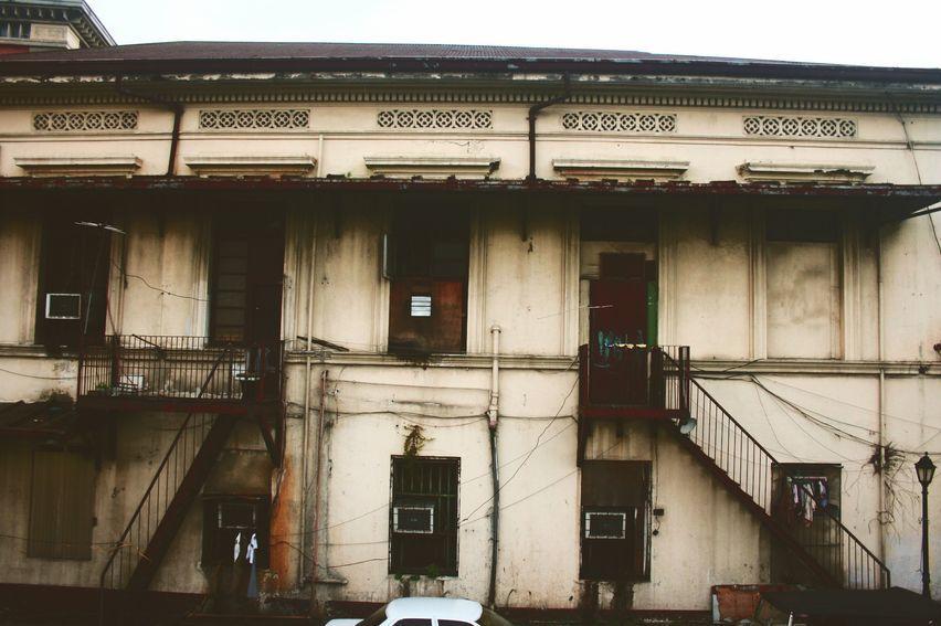 A building in Intramuros