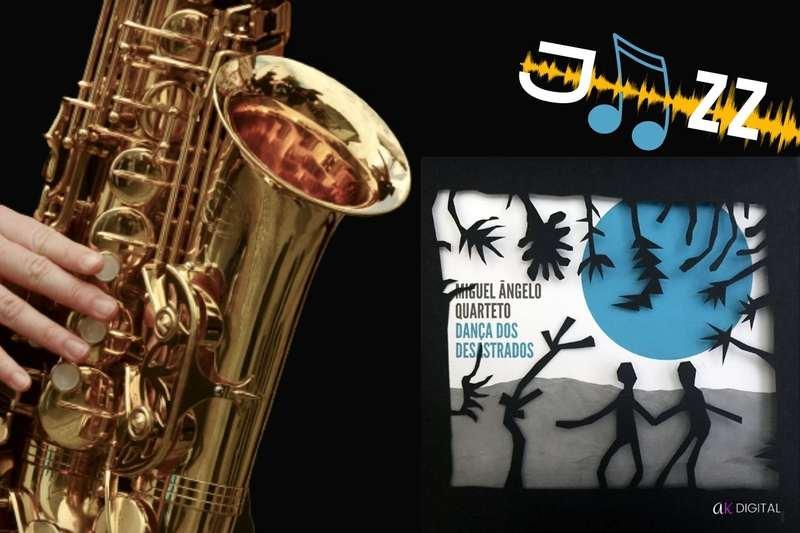 """""""Dança dos Desastrados"""" de Miguel Ângelo Quarteto é um dos melhores álbuns do último mês, segundo o site internacional Bandcamp."""
