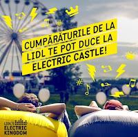 Castiga invitatii duble la Electric Castle - concurs - bilete - lidl - castiga.net