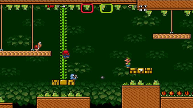 Download Game Super Mario Bros X PC Games Gameplay