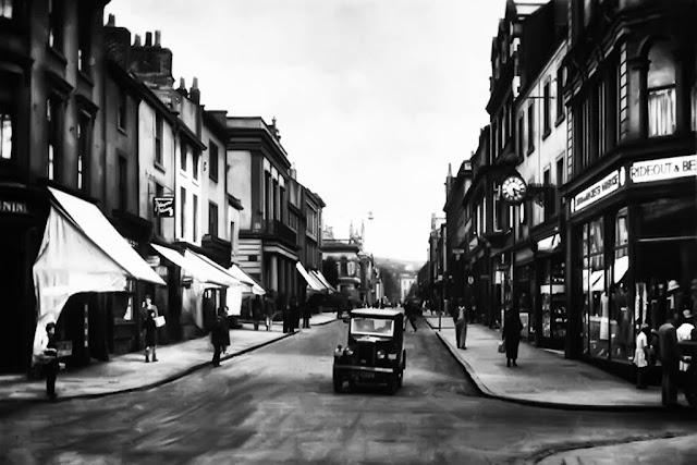 Morris Minor Saloon, Lowther Street, Whitehaven 1930