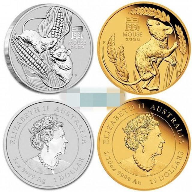 tiền xu mạ vàng