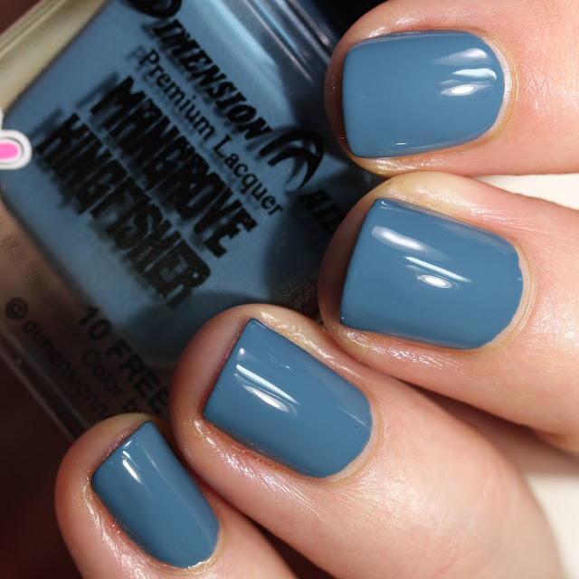 Dimension Nails Mangrove Kingfisher swatch