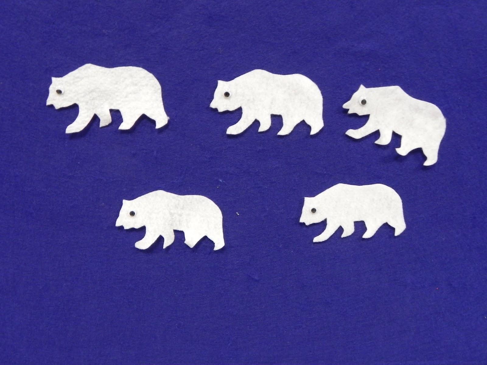 Libraryland Flannel Friday Five Little Polar Bears