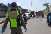 Operasi Yustisi Di Lakukan Tiga Pilar di Cikarang Utara Kab Bekasi