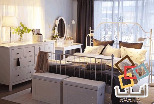 مجموعة مميّزة من غرف نوم ايكيا   أفانا
