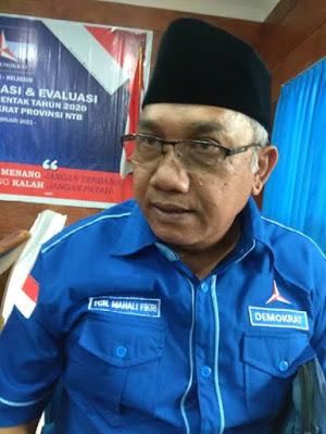 Ketua DPD Partai Demokrat NTB, TGH. Mahali Fikri